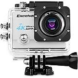 """Excelvan Sport Caméra WIFI 2"""" 4K 30fps 16MP H.264 170°Grand Angle Caméra D'action DV avec Micro USB et Port HDMI"""