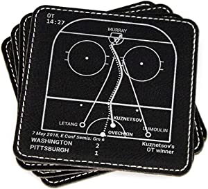 Greatest Capitals Plays - Leatherette Coasters (Set of 4)