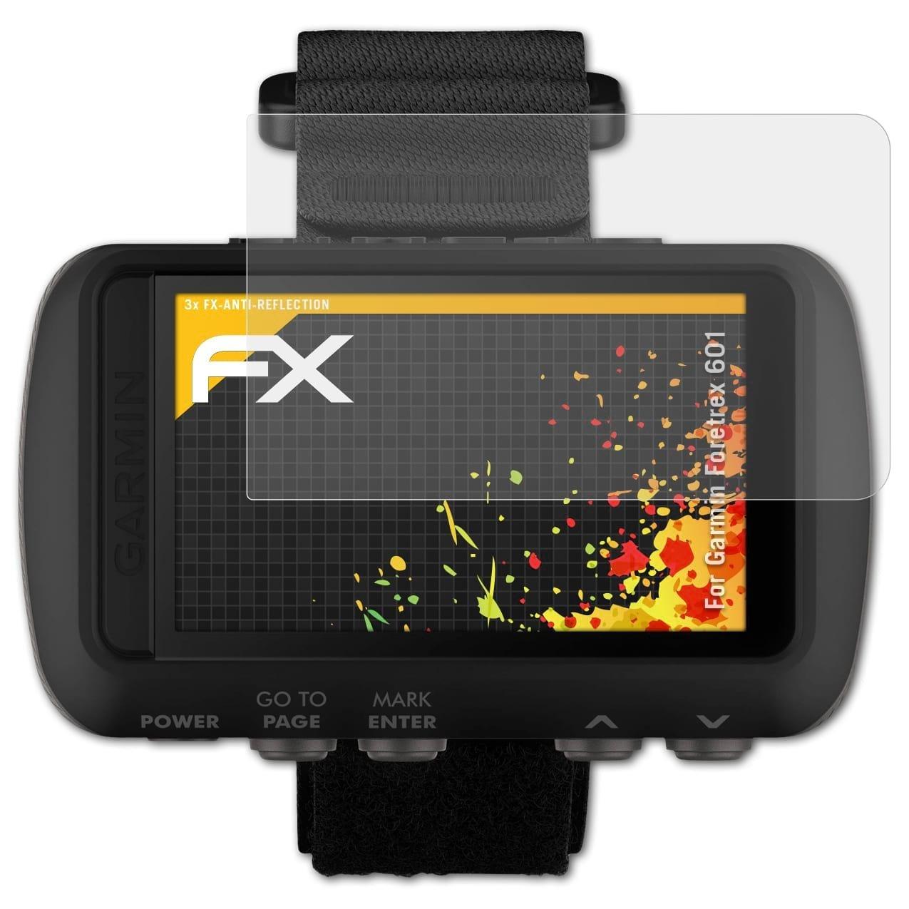 entspiegelnde und sto/ßd/ämpfende FX Folie atFoliX Panzerfolie kompatibel mit Garmin Zumo 345LM 395LM Schutzfolie 3X