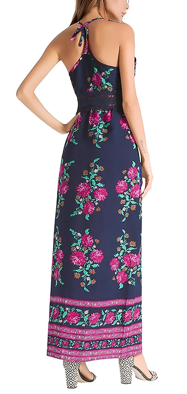 Vestidos Largos De Verano Mujer Playa Entallados Fashion Ropa Dama ...