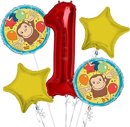 Amazon.com: Jorge el curioso ramo de globos primer ...