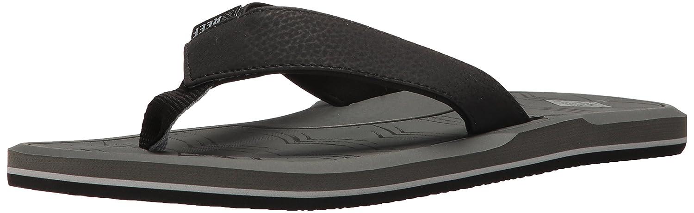 Reef Ra2t2d-tma - Sandalias de vestir de Material Sintético para hombre 14.0|Gris, Negro