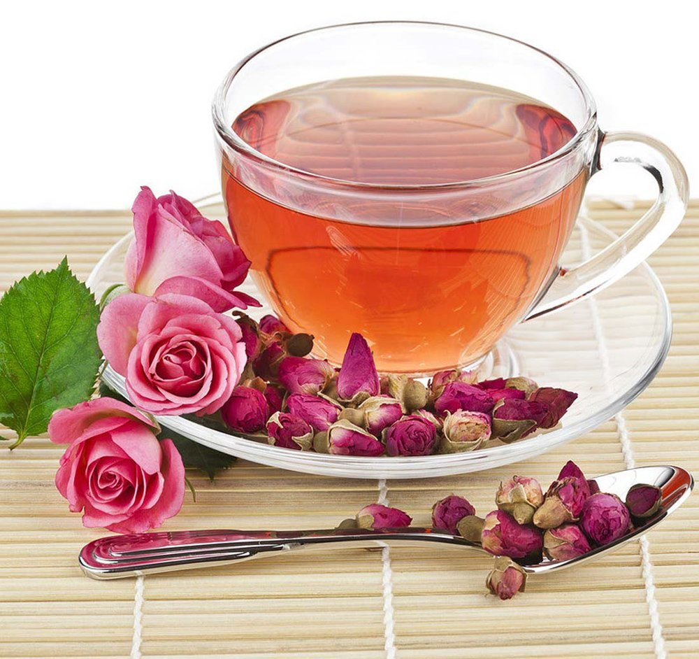 amazon com red rose tea chinese tea herbal flower tea