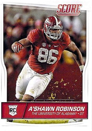 A'Shawn Robinson Alabama Crimson Tide Football Jersey-Red