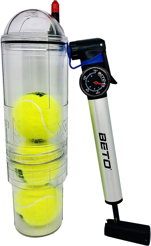 Presurizador TuboX4 Crystal con bomba con manómetro Beto para ...