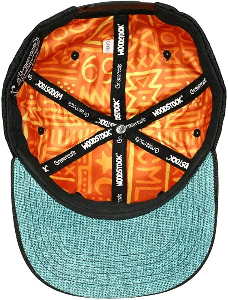 Woodstock New Native Black Snapback Hat