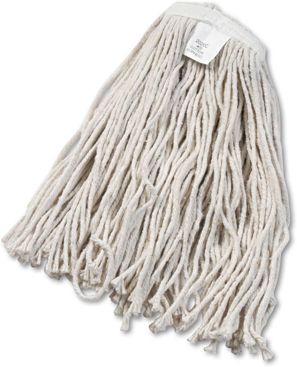 Amazon Com Unisan Cut End Wet Mop Head Cotton 20 Size White 2020c Mop Replacement Heads Office Products