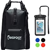 Dry Bag -5L,10L,20L,30L Waterproof Floating Gear Backpack Bags, Ultralight Perfect Wet Dry Sack for Boating,Kayaking,Fishing,Swimming,Water Sports Camping and Hiking with Bonus Waterproof Phone Case