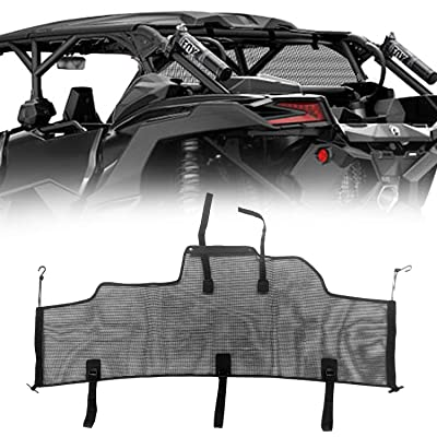 ForceCar Black Rear Windscreen Mesh for 2020 2020 2020 New OEM Maverick X3 Max Can Am 715002897: Automotive