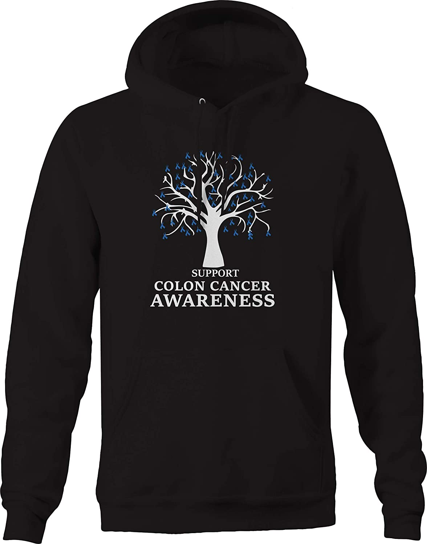 M22 Support Colon Cancer Awareness Tree Ribbon Sweatshirt