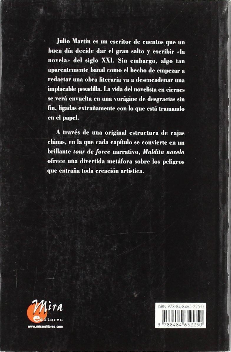 Maldita Novela Roberto Malo 9788484652250 Amazon Com Books