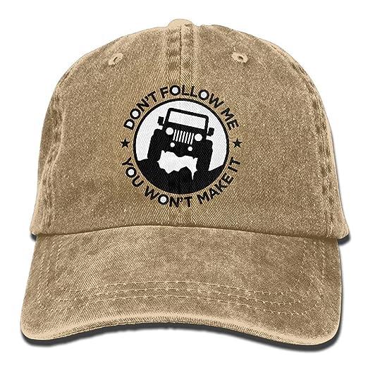 Amazon.com  The Jeep Wave Denim Hat Adjustable Women s Plain ... fce2779969f