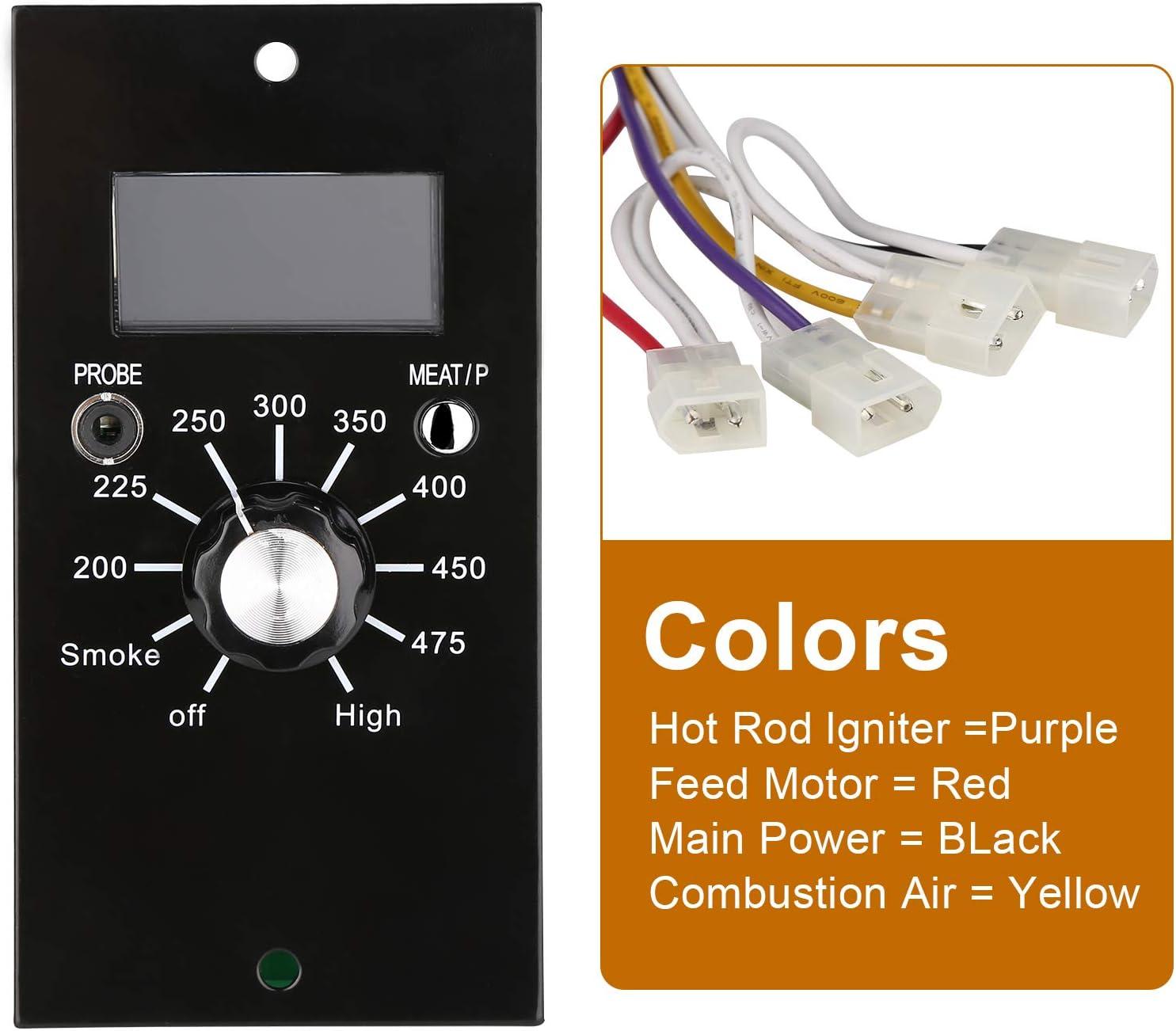 Pit Boss Pellet Grills Digital Temperature Control Panel Kit Replacement Parts