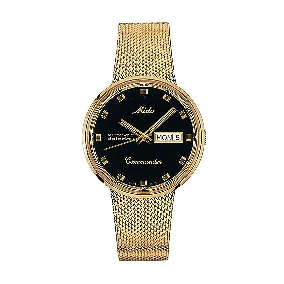 17d43d479a24 MIDO M842932813 Reloj de Lujo para Hombre  Amazon.com.mx  Relojes