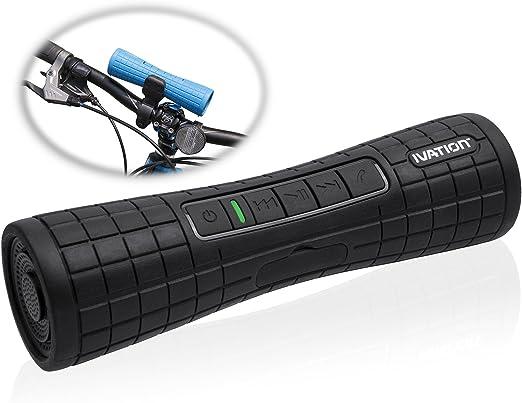 Ivation BOOMER: altavoz ESTÉREO Bluetooth recargable superportátil ...