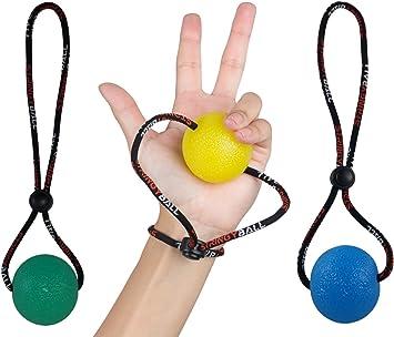 Bola antiestrés StringyBall con cuerda, ideal para alivio de ...