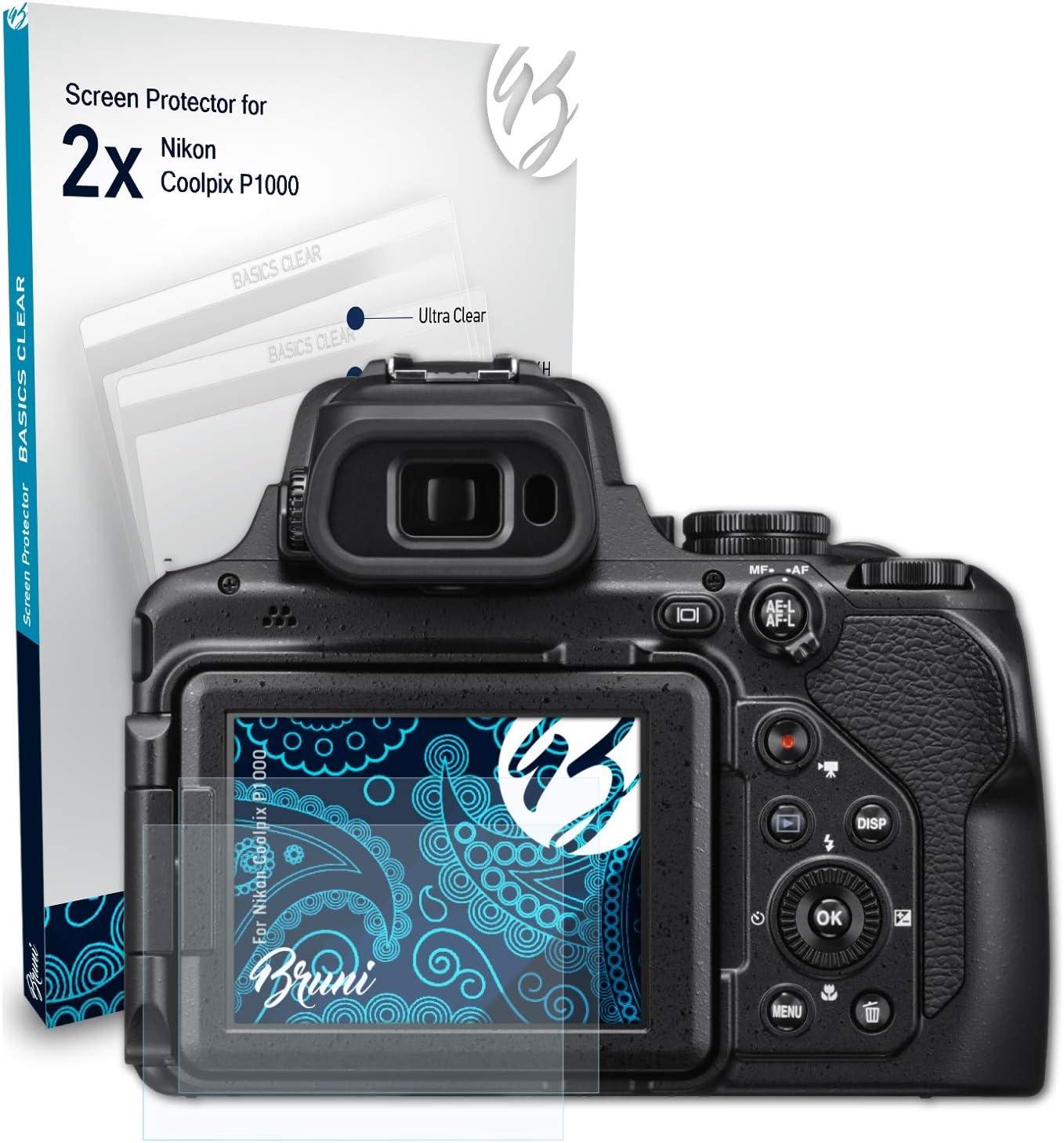 Bruni Schutzfolie Kompatibel Mit Nikon Coolpix P1000 Kamera