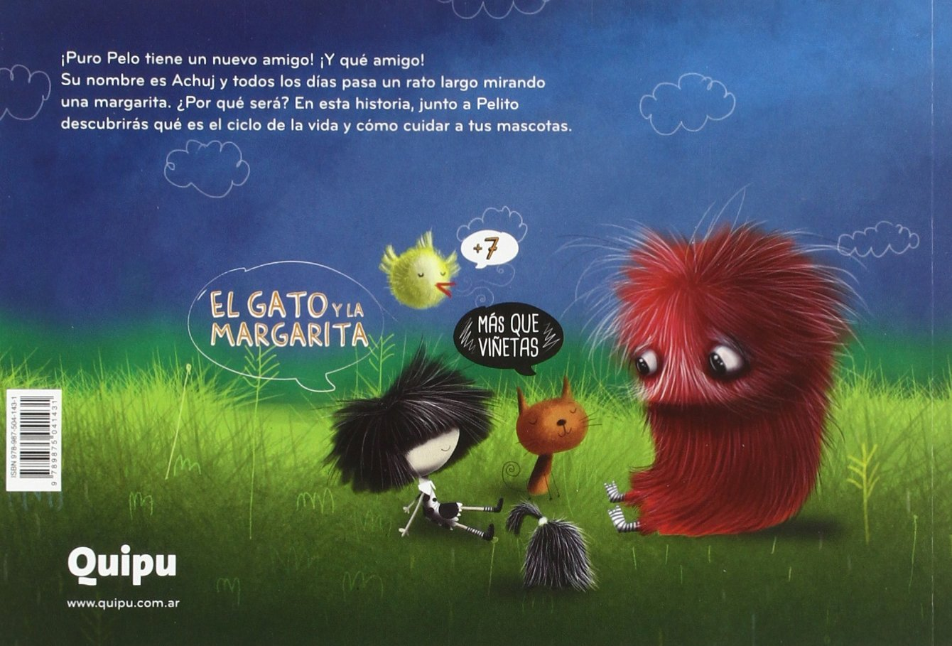 Puro Pelo El Gato Y La Margarita: Fabián Sevilla: 9789875041431: Amazon.com: Books