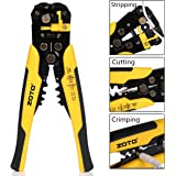 Wire Stripper,ZOTO Self-adjusting Cable Cutter Crimper,Automatic Wire Stripping Tool/Cutting Pliers Tool for Industry
