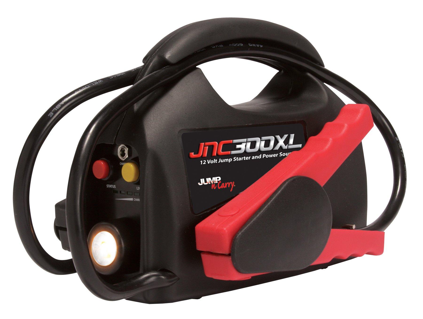 Clore Automotive Jump-N-Carry JNC300XL 900 Peak Amp Jump Starter by Clore Automotive