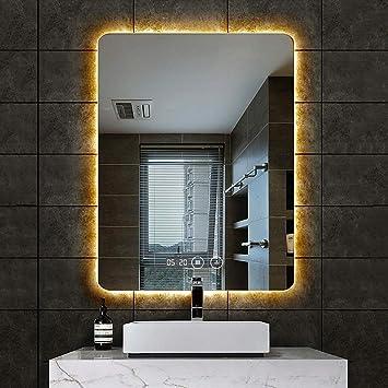 Spiegel mit beleuchtung An der Wand befestigter LED