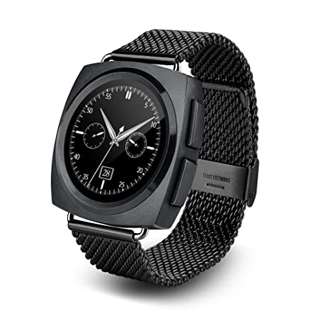 Amazon.com: UZOU Smartphone Watch Bluetooth 4.0, 1.22 Inch ...