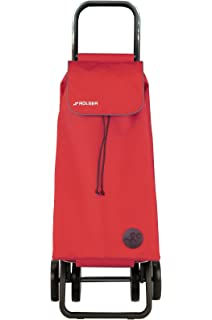 ROLSER Pack MF Logic 2+2 Rojo, Shopping, Trolley, Buggie, cart