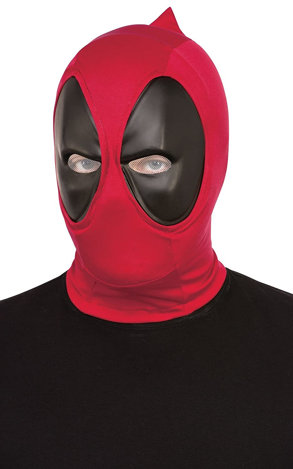 Amazon Marvel Mens Deadpool Adult Overhead Fabric Mask Multi