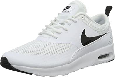 Air Max Thea, Sneakers Basses femme, Bianco (WhiteBlack), 38 EU