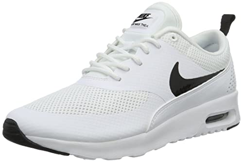 4006fe9a49 Nike Women's Air Max Thea White/Black Running Shoe 5.5 Women US: Amazon.in:  Shoes & Handbags