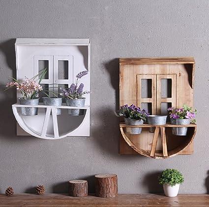 Mensola per montaggio a muro in stile pastorale europeo Retro Fai la ...