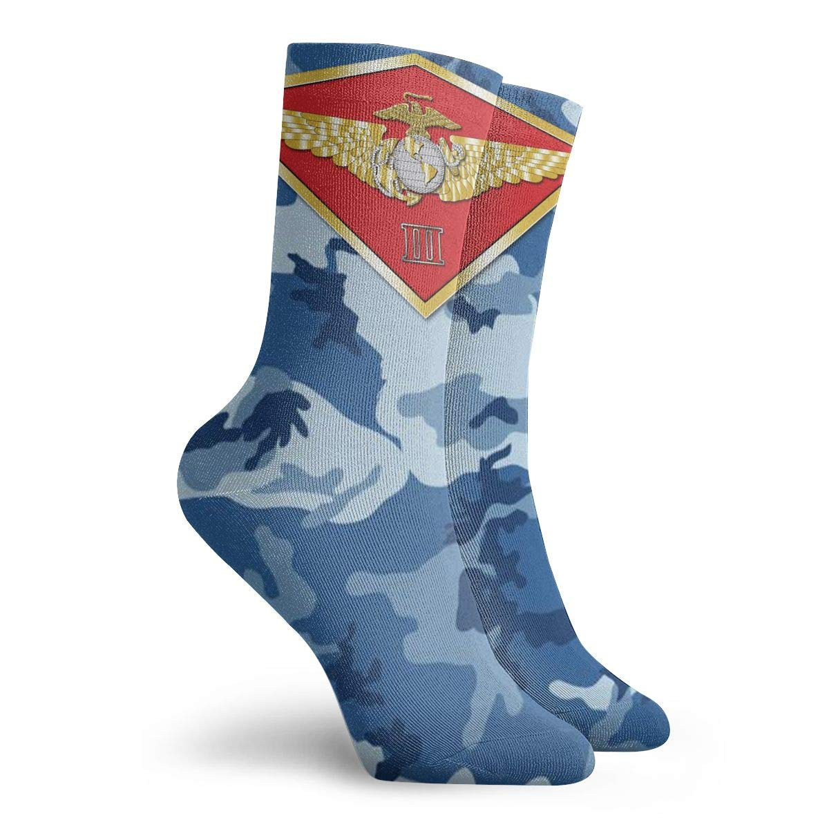 2nd Marine Aircraft Wing Unisex Holiday Sock 30cm Long Sock