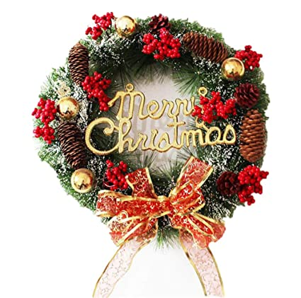 Amazon Com Prodigal Christmas Wreath Wreath Hanger And Christmas
