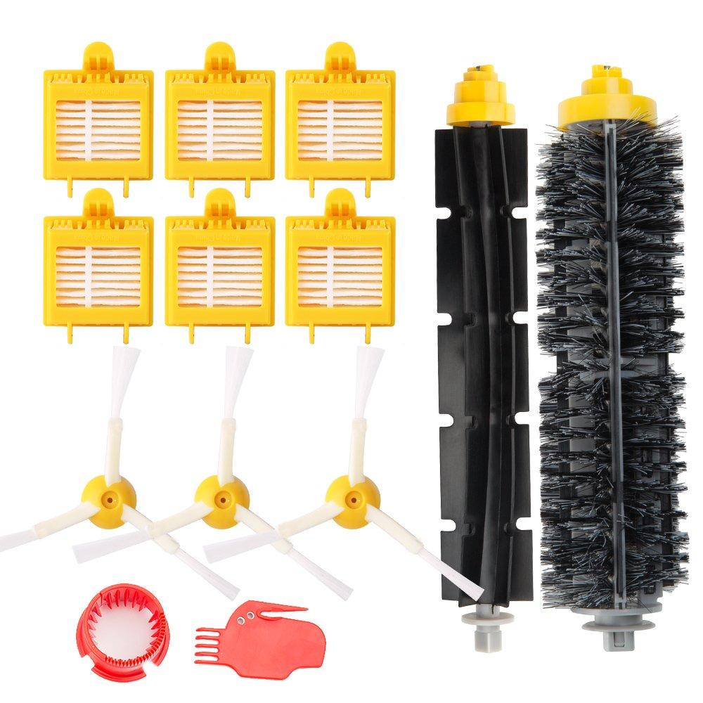 efluky Kit cepillos repuestos de Accesorios para iRobot Roomba Serie 00 720 750 760 765 770