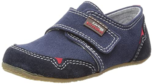 Living Kitzbühel Slipper Klett. u. Gumminoppe 1654 - Zapatos para niños, color marrón, talla 29