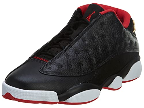 13acc00290f Jordan Men's Air 13 Retro Low, BLACK/METALLIC GOLD-UNIVERSITY RED-WHITE,  10.5 M US: Amazon.ca: Shoes & Handbags