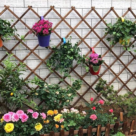YOGANHJAT Celosía Madera Jardin Balcon Madera Pared Enrejado expansión jardín Resistente para Plantas De pie Independiente de Madera Casa Jardinería Bricolaje marrón,100 * 60cm/39.3 * 23.6in: Amazon.es: Hogar