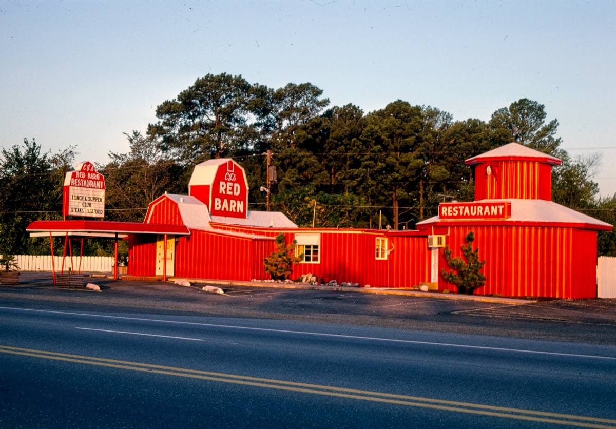 Amazon com: Roadside America Photo Collection | 1979 Red Barn