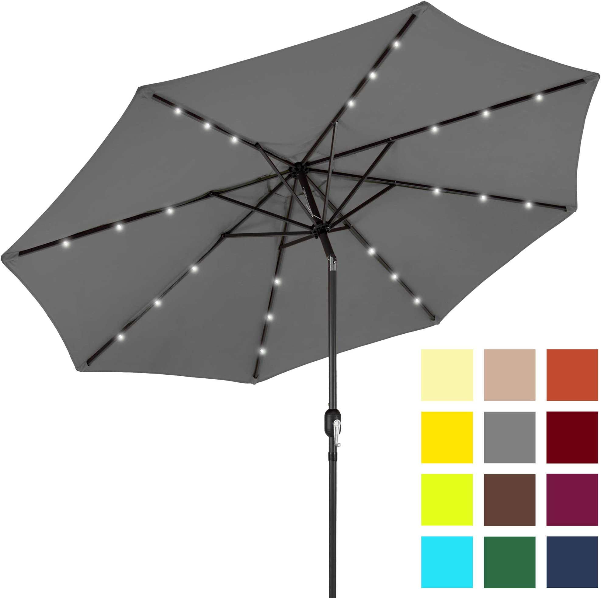 Best Choice Products 10ft LED Patio Umbrella  sc 1 st  Amazon.com & Patio Umbrellas | Amazon.com