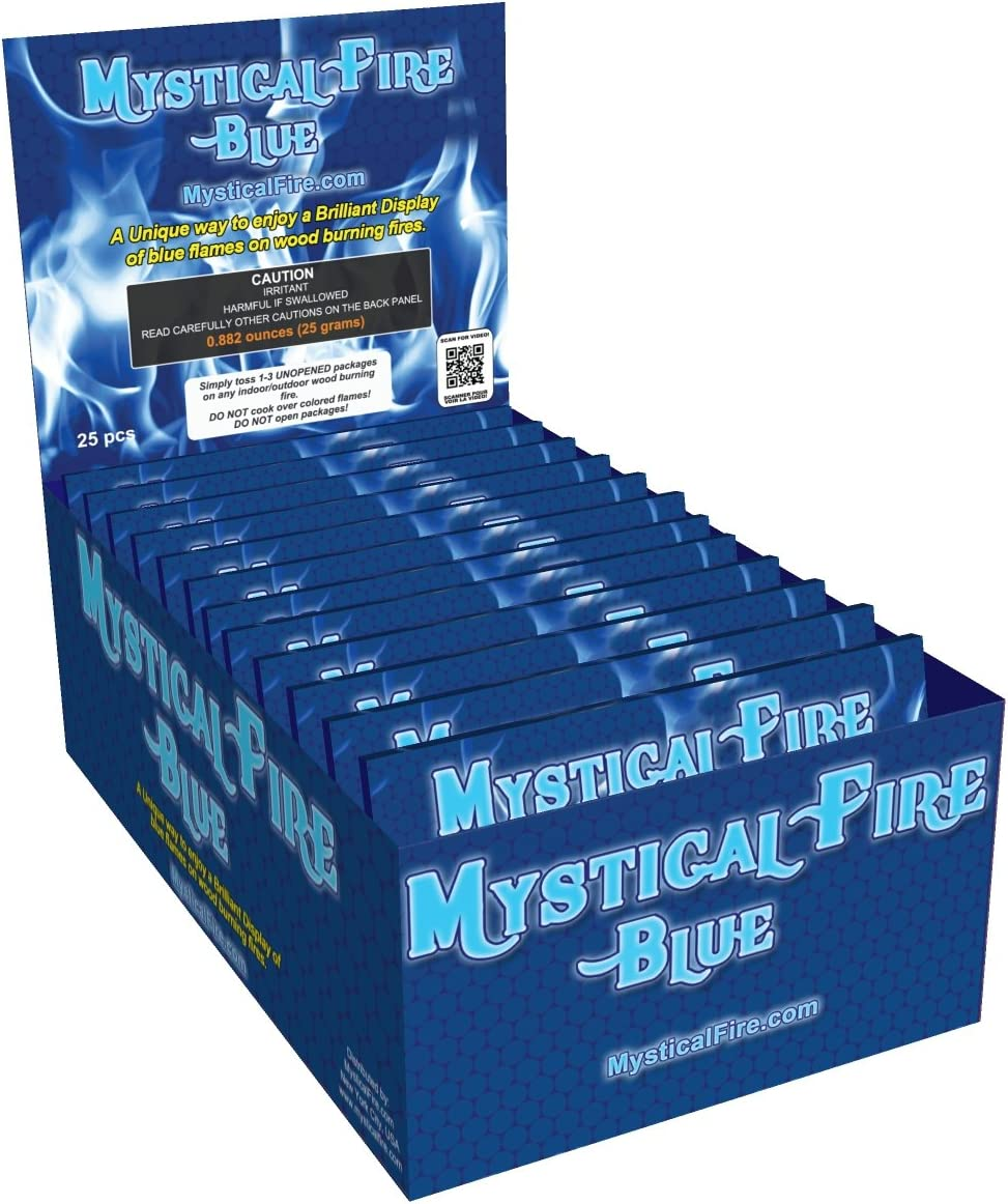 Mystical Fire Lagerfeuer Kamin Colorant Pakete von Mystical 10 Stück
