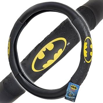 Amazon.com: Batman Warner Brothers – Cubierta para volante ...