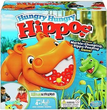 Hasbro Gaming - Tragabolas, juego de mesa (versión en francés ...