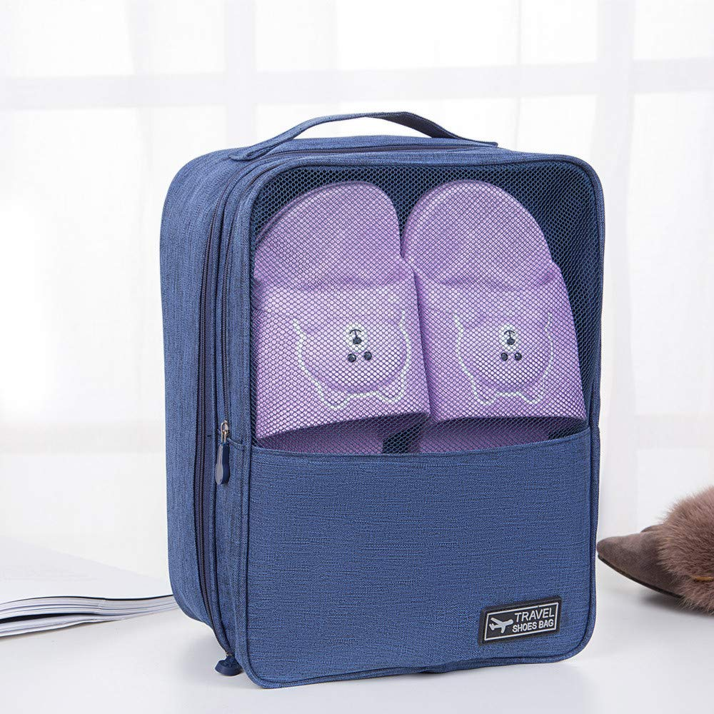 Transer Portable Travel Shoes Bags Dancing Sports Green Gym Men Women Elegant Oxfords Shoe Storage Bag Organizer With Zipper For Workout