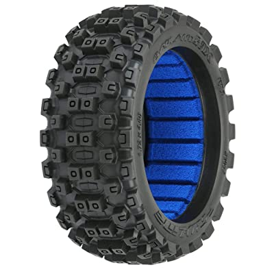 Pro-line Racing Badlands MX M2 All Terrain 1/8 Buggy Tires (2) F/R, PRO906701: Toys & Games