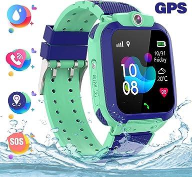 Reloj inteligente para niños a prueba de agua IP67, GPS ...