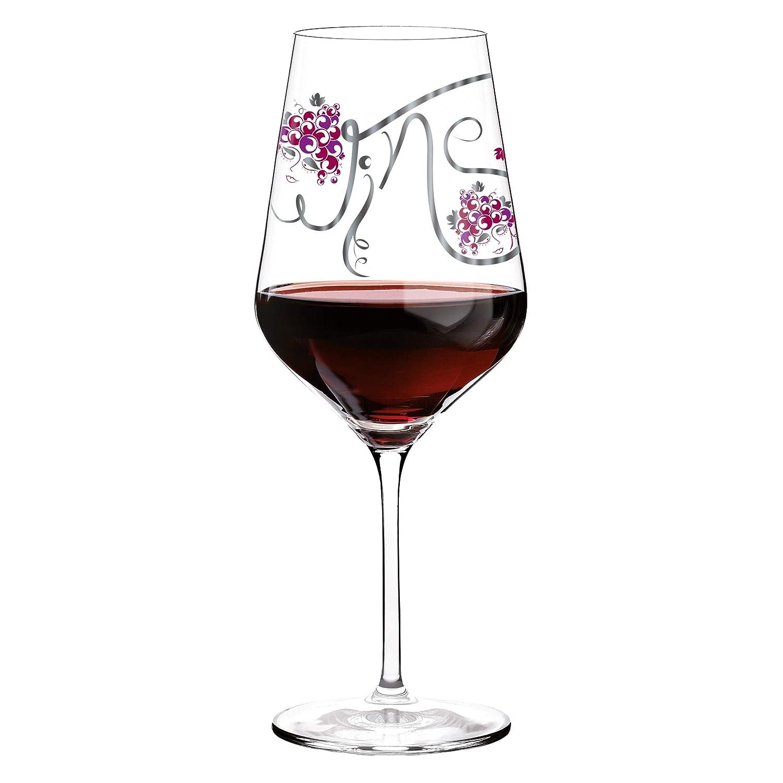 RITZENHOFF 58 ClAnissa Mendil Wine Glass Red