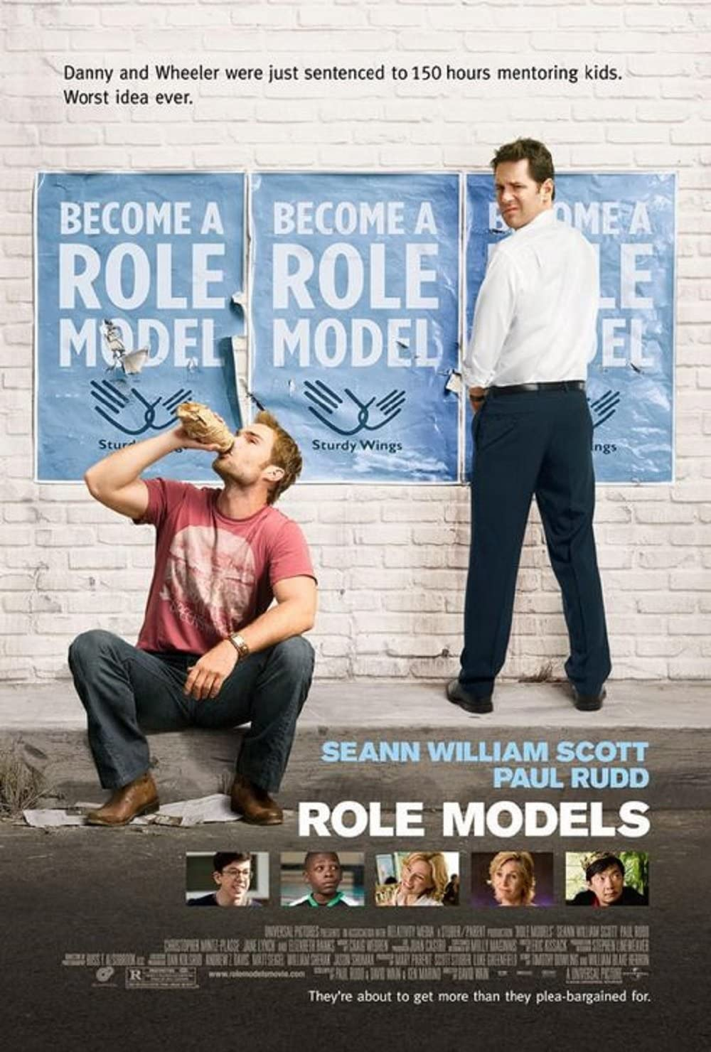 Role Models 2008 S/S Movie Poster 11x17 at Amazon's Entertainment ...