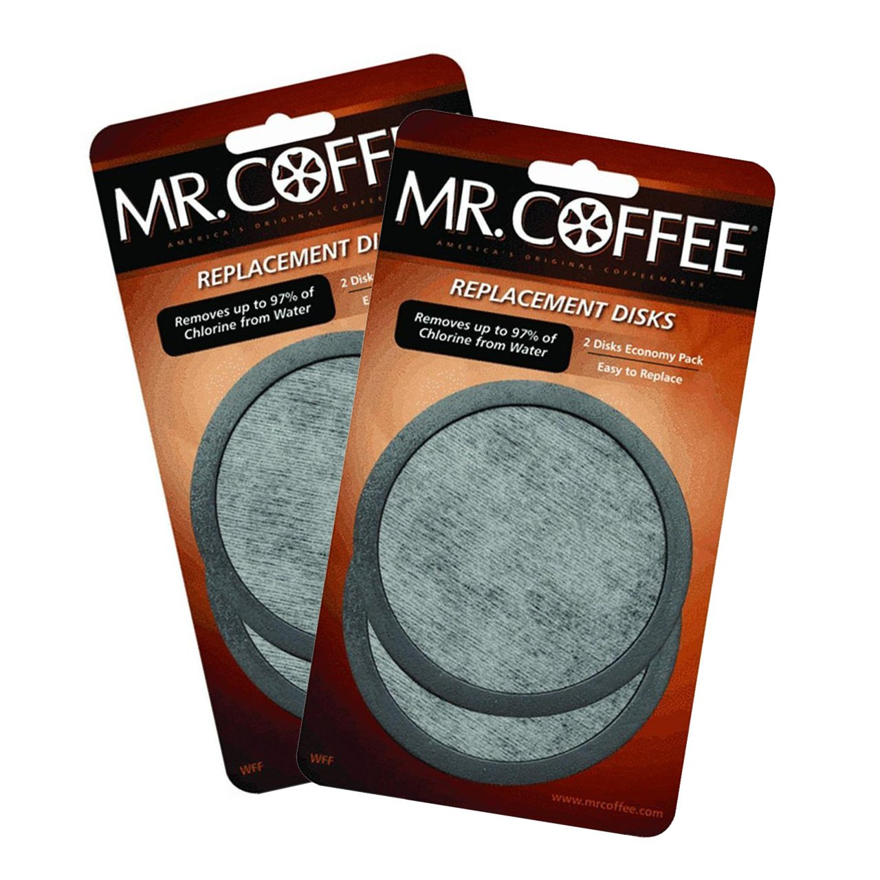 2 X Mr. Coffee Water Filter Replacement 2pk