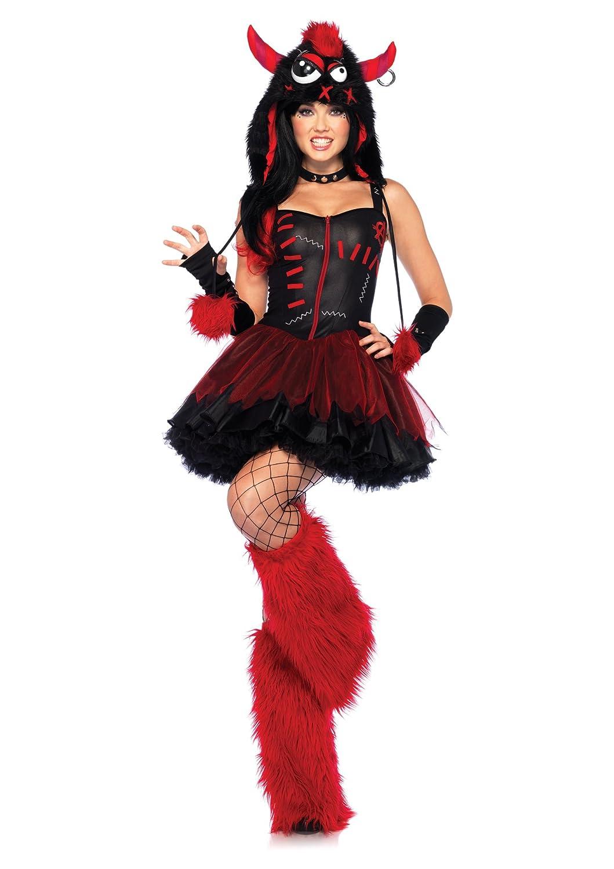 Leg Avenue 85163 - Rebel Monsterkostüm, Größe S M B00BTPPM9O Kostüme für Erwachsene Verkaufspreis  | Spielzeugwelt, spielen Sie Ihre eigene Welt
