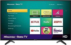 Hisense 32H4F 32-Inch LED Roku Smart TV with Alexa Compatibility (2020)
